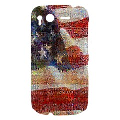 Grunge United State Of Art Flag HTC Desire S Hardshell Case