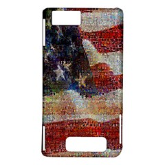 Grunge United State Of Art Flag Motorola DROID X2