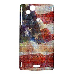 Grunge United State Of Art Flag Sony Xperia Arc