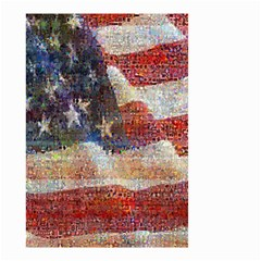 Grunge United State Of Art Flag Small Garden Flag (Two Sides)