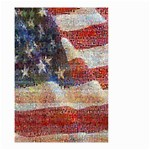Grunge United State Of Art Flag Small Garden Flag (Two Sides) Back