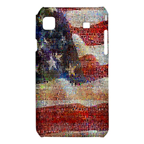 Grunge United State Of Art Flag Samsung Galaxy S i9008 Hardshell Case