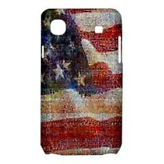 Grunge United State Of Art Flag Samsung Galaxy SL i9003 Hardshell Case