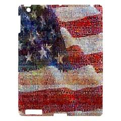 Grunge United State Of Art Flag Apple iPad 3/4 Hardshell Case