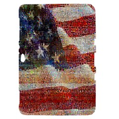 Grunge United State Of Art Flag Samsung Galaxy Tab 8.9  P7300 Hardshell Case