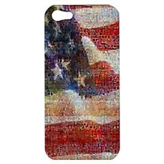 Grunge United State Of Art Flag Apple iPhone 5 Hardshell Case
