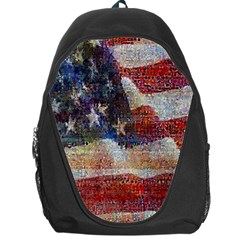 Grunge United State Of Art Flag Backpack Bag