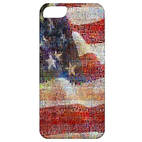 Grunge United State Of Art Flag Apple iPhone 5 Classic Hardshell Case