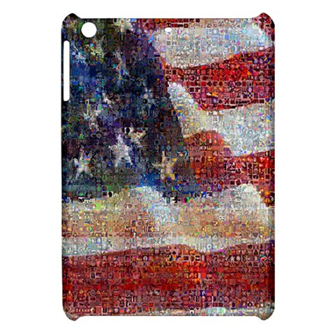 Grunge United State Of Art Flag Apple iPad Mini Hardshell Case