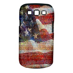 Grunge United State Of Art Flag Samsung Galaxy S III Classic Hardshell Case (PC+Silicone)