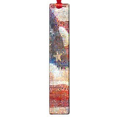 Grunge United State Of Art Flag Large Book Marks