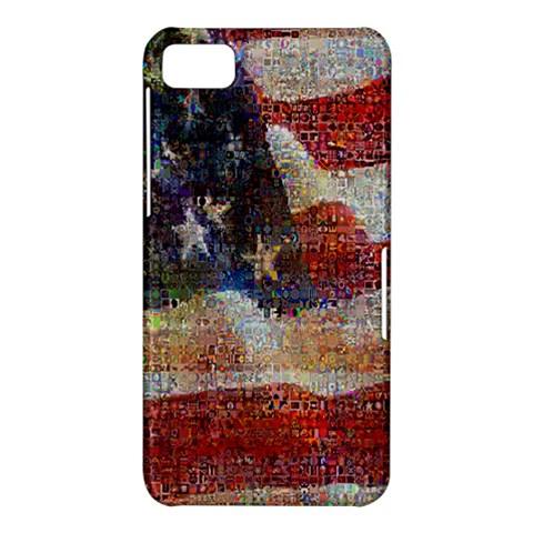 Grunge United State Of Art Flag BlackBerry Z10