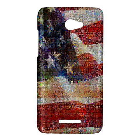Grunge United State Of Art Flag HTC Butterfly X920E Hardshell Case