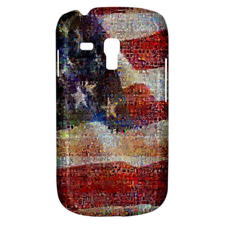 Grunge United State Of Art Flag Samsung Galaxy S3 MINI I8190 Hardshell Case