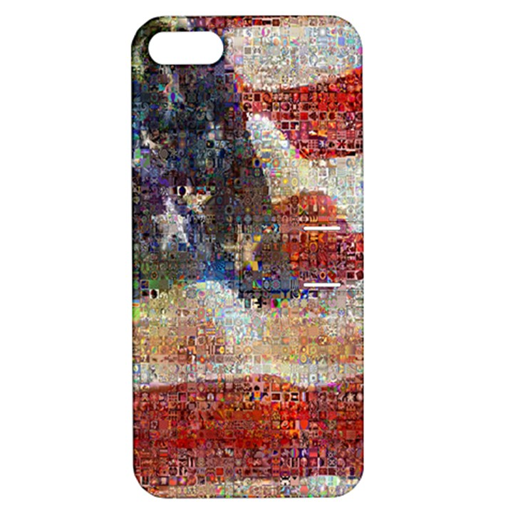 Grunge United State Of Art Flag Apple iPhone 5 Hardshell Case with Stand
