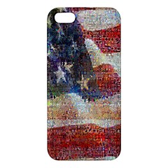 Grunge United State Of Art Flag Apple iPhone 5 Premium Hardshell Case