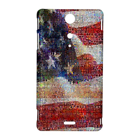 Grunge United State Of Art Flag Sony Xperia TX