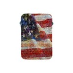 Grunge United State Of Art Flag Apple iPad Mini Protective Soft Cases Front