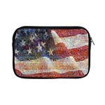 Grunge United State Of Art Flag Apple iPad Mini Zipper Cases Front