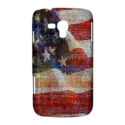 Grunge United State Of Art Flag Samsung Galaxy Duos I8262 Hardshell Case