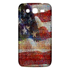 Grunge United State Of Art Flag Samsung Galaxy Mega 5.8 I9152 Hardshell Case