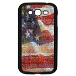 Grunge United State Of Art Flag Samsung Galaxy Grand DUOS I9082 Case (Black) Front