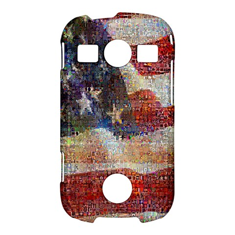 Grunge United State Of Art Flag Samsung Galaxy S7710 Xcover 2 Hardshell Case