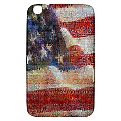 Grunge United State Of Art Flag Samsung Galaxy Tab 3 (8 ) T3100 Hardshell Case