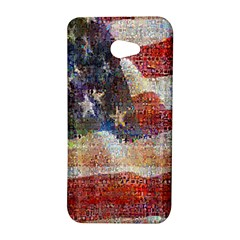 Grunge United State Of Art Flag HTC Butterfly S/HTC 9060 Hardshell Case