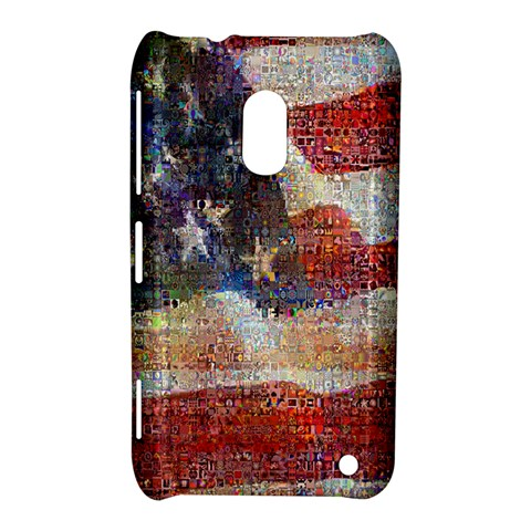 Grunge United State Of Art Flag Nokia Lumia 620