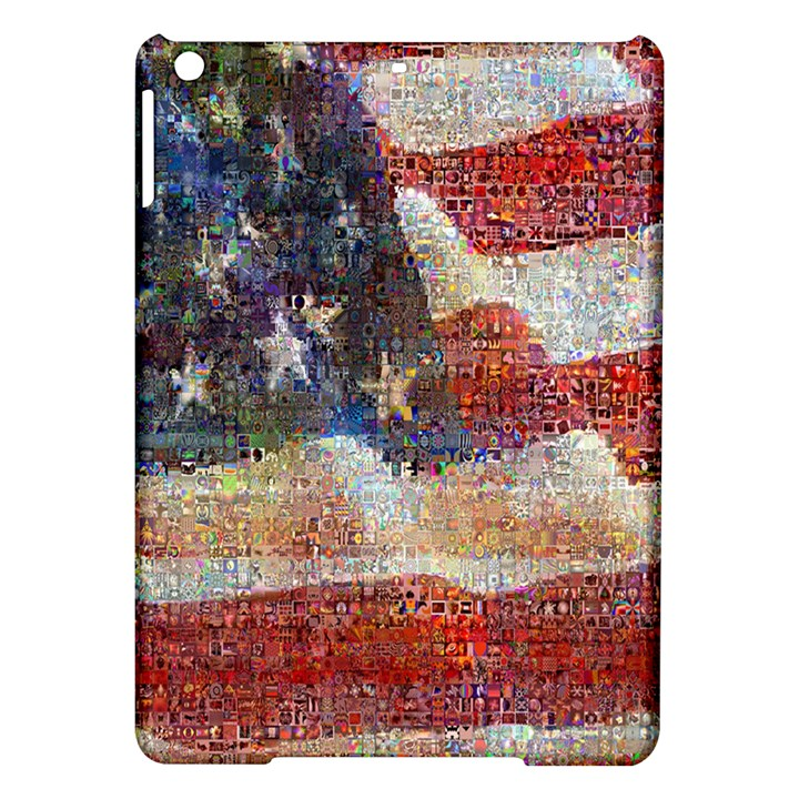 Grunge United State Of Art Flag iPad Air Hardshell Cases