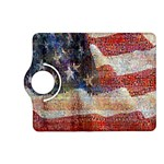 Grunge United State Of Art Flag Kindle Fire HD (2013) Flip 360 Case Front