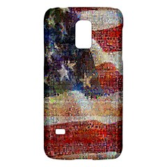Grunge United State Of Art Flag Galaxy S5 Mini