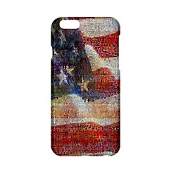 Grunge United State Of Art Flag Apple iPhone 6/6S Hardshell Case