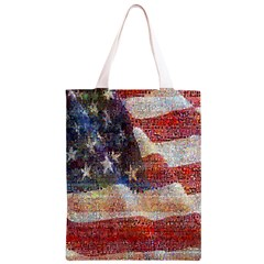 Grunge United State Of Art Flag Classic Light Tote Bag