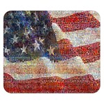Grunge United State Of Art Flag Double Sided Flano Blanket (Small)  50 x40 Blanket Back