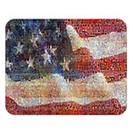 Grunge United State Of Art Flag Double Sided Flano Blanket (Large)  80 x60 Blanket Front