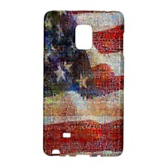 Grunge United State Of Art Flag Galaxy Note Edge