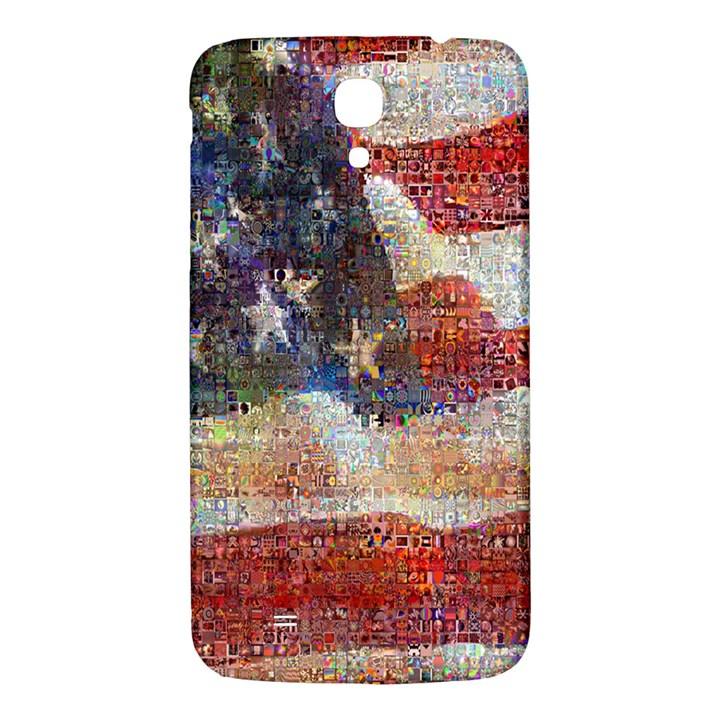 Grunge United State Of Art Flag Samsung Galaxy Mega I9200 Hardshell Back Case