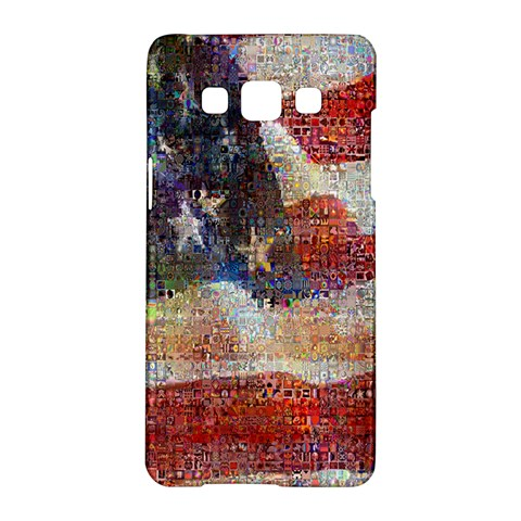 Grunge United State Of Art Flag Samsung Galaxy A5 Hardshell Case