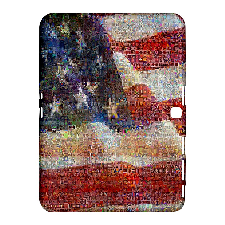 Grunge United State Of Art Flag Samsung Galaxy Tab 4 (10.1 ) Hardshell Case