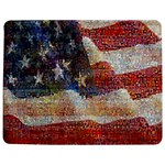 Grunge United State Of Art Flag Jigsaw Puzzle Photo Stand (Rectangular) Front