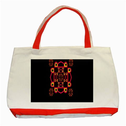 LETTER R Classic Tote Bag (Red)