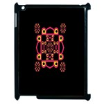LETTER R Apple iPad 2 Case (Black) Front