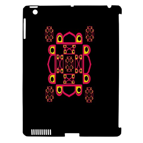 LETTER R Apple iPad 3/4 Hardshell Case (Compatible with Smart Cover)