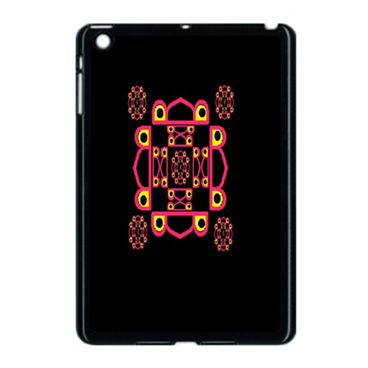 LETTER R Apple iPad Mini Case (Black)