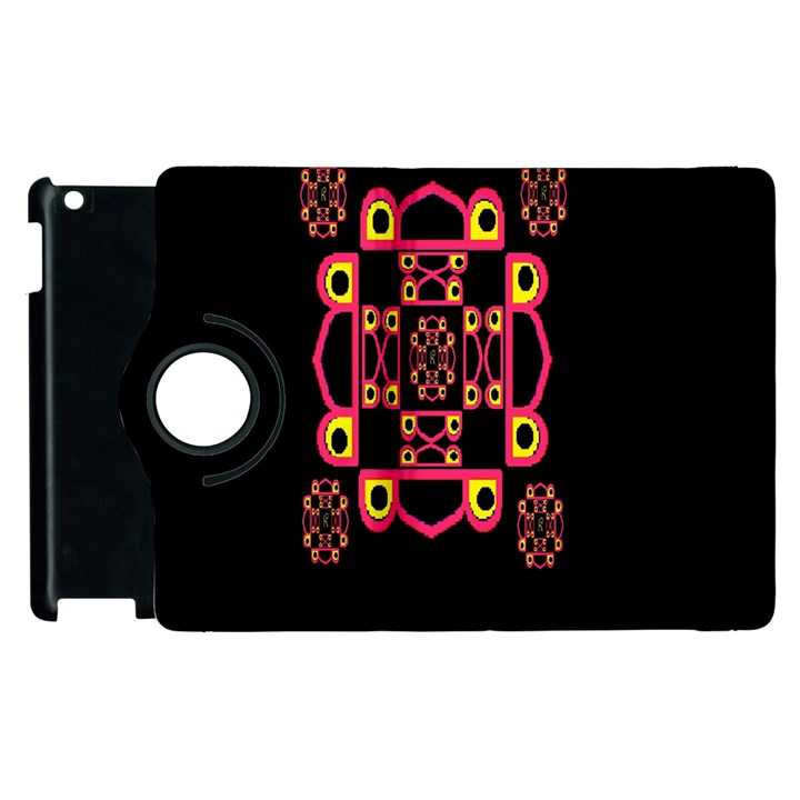 LETTER R Apple iPad 2 Flip 360 Case