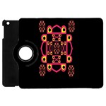 LETTER R Apple iPad Mini Flip 360 Case Front
