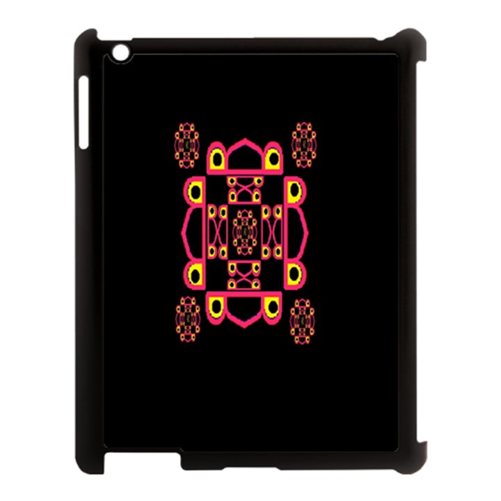 LETTER R Apple iPad 3/4 Case (Black)