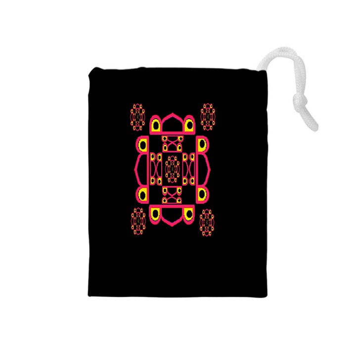 LETTER R Drawstring Pouches (Medium)